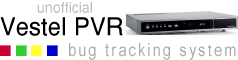 Unofficial Vestel PVR Issue Tracker